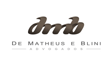Logotipo Advocacia - De Matheus e Blini